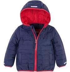 Pikowana kurtka z kapturem dla chłopca 2-3 lat N71A002_1