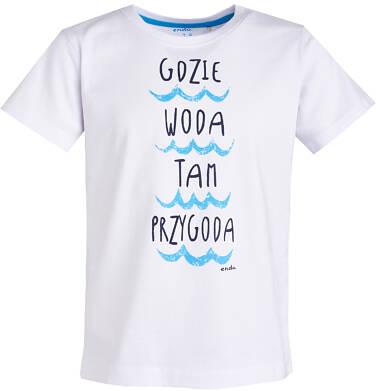 Endo - T-shirt dla chłopca 3-8 lat C81G128_1