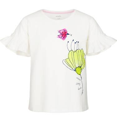Endo - Bluzka z krótkim rękawem dla dziewczynki 9-13 lat D91G585_1