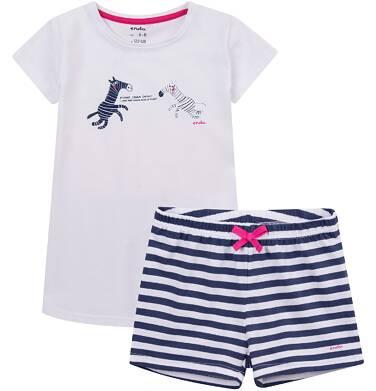 Endo - Piżama z krótkimi spodenkami dla dziewczynki 4-8 lat D71V005_1