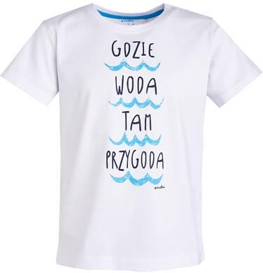 Endo - T-shirt dla chłopca 9- 13 lat C81G628_1