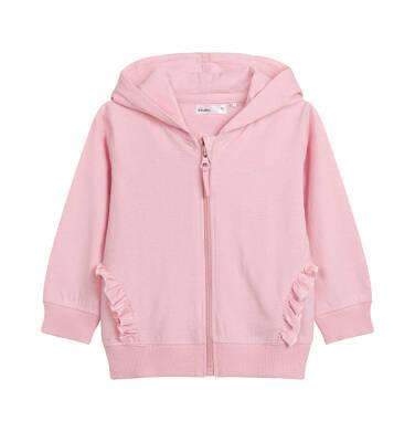 Endo - Rozpinana bluza z kapturem dla dziecka do 2 lat, z uszami pandy, różowa N03C007_1 13
