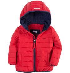 Pikowana kurtka z kapturem dla chłopca 2-3 lat N71A002_3