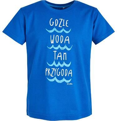 Endo - T-shirt z krótkim rękawem dla chłopca 3-8 lat C81G128_2