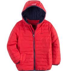Pikowana kurtka z kapturem dla chłopca 9-13 lat C71A502_3