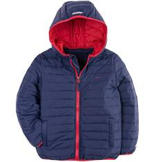 Pikowana kurtka z kapturem dla chłopca 9-13 lat C71A502_1