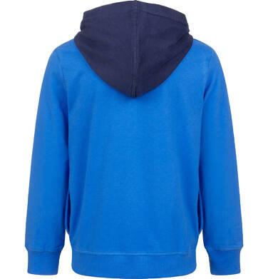 Endo - Bluza rozpinana z kapturem, niebieska, 9-13 lat C04C015_1,2