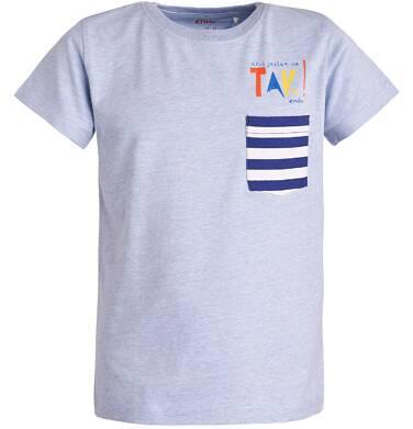 T-shirt z krótkim rękawem dla chłopca 9- 13 lat C81G517_1