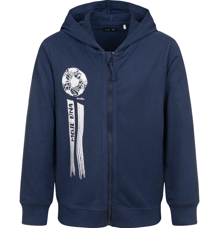 Endo - Bluza rozpinana z kapturem, granatowa, 9-13 lat C04C015_2