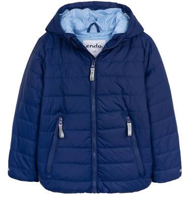 Endo - Przejściowa kurtka z kapturem dla chłopca, granatowa z elementami odblaskowymi, 9-13 lat C05A009_1 30