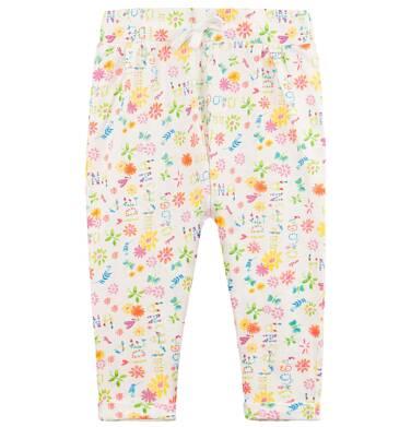 Endo - Spodnie w kolorowy deseń dla niemowlaka N61K008_1