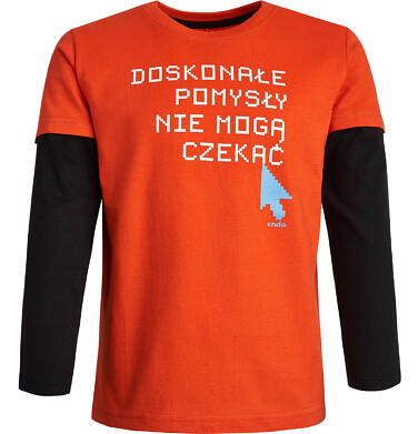 Endo - T-shirt z długim rękawem dla chłopca 9-13 lat C82G598_1