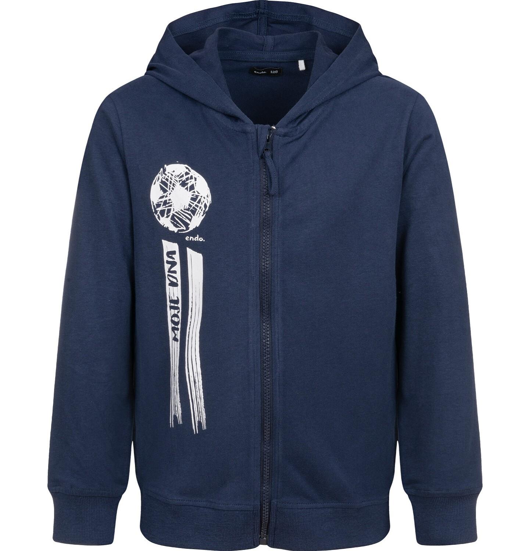 Endo - Bluza rozpinana z kapturem, granatowa, 9-13 lat C04C042_2