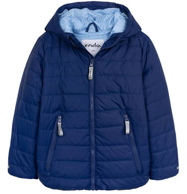 Endo - Przejściowa kurtka z kapturem dla chłopca, granatowa z elementami odblaskowymi, 2-8 lat C05A010_1 8