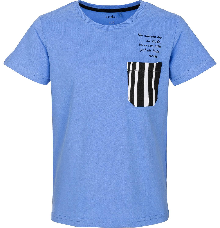 Endo - T-shirt z krótkim rękawem dla chłopca 9-13 lat C91G647_1