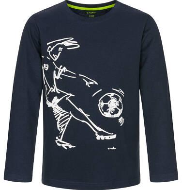Endo - T-shirt z długim rękawem dla chłopca 9-13 lat C92G522_1