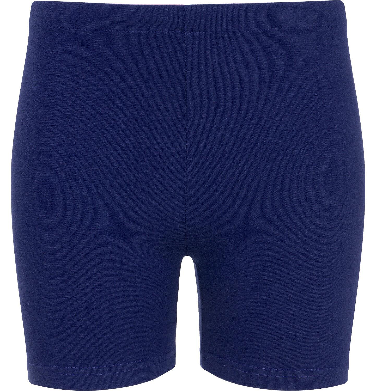 Endo - Krótkie legginsy dla dziewczynki, granatowe, 2-8 lat D06K001_1