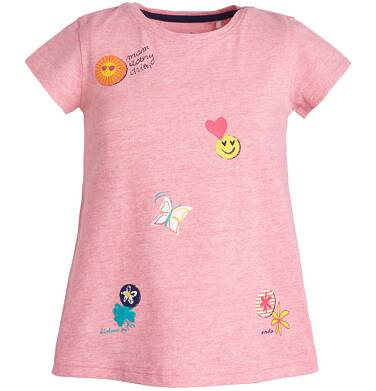 Endo - T-shirt z krótkim rękawem dla dziewczynki 9-13 lat D81G533_1