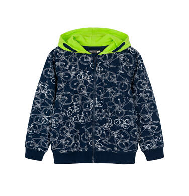 Bluza rozpinana z kapturem dla dziecka 0-3 lata N91C031_1