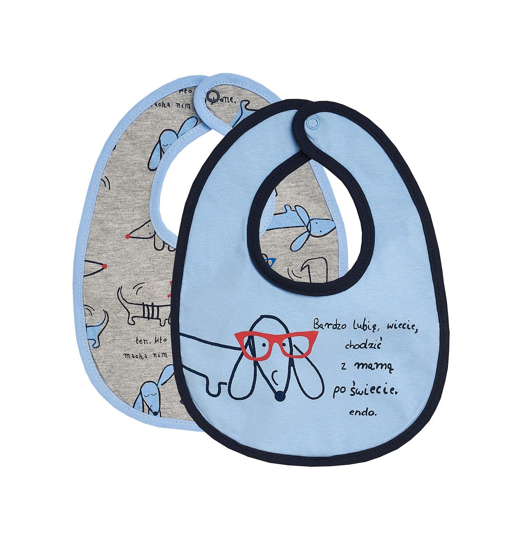 Endo - Śliniak dla niemowlaka dwupak N82M012_1