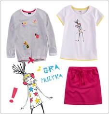 Zestaw dla małej dziewczynki z linii Endorock D030_M