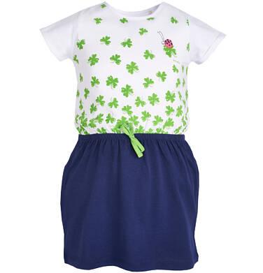 Endo - Sukienka z krótkim rękawem dla dziewczynki 3-8 lat D81H002_1