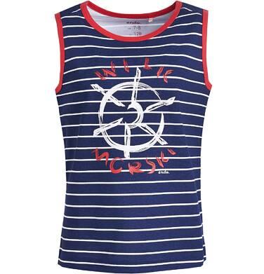 Endo - Koszulka bez rękawów dla chłopca 3-8 lat C81G139_1