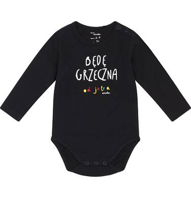 Endo - Będę grzeczna, Body dla niemowlaka 1-24 m-ce N82M034_1