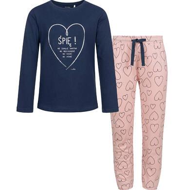 Endo - Piżama dla dziewczynki, deseń w serca, 2-8 lat D04V009_1 6