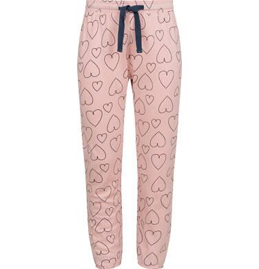 Endo - Piżama dla dziewczynki, deseń w serca, 2-8 lat D04V009_1,2