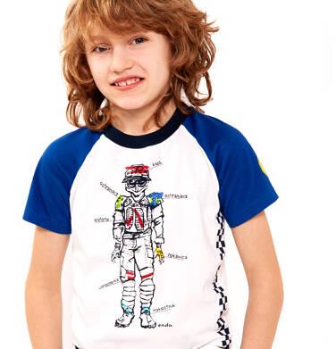 Endo - T-shirt z krótkim rękawem dla chłopca 3-8 lat C91G024_1
