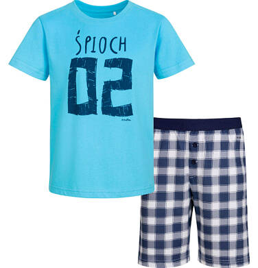 Endo - Piżama z krótkim rękawem dla chłopca, śpioch, 2-8 lat C03V001_1 23