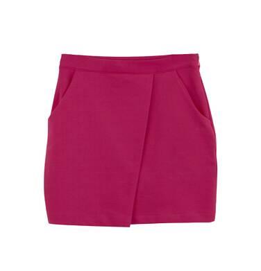 Endo - Spódnica kopertowa z kieszeniami dla dziewczynki 3-8 lat D62J017_2