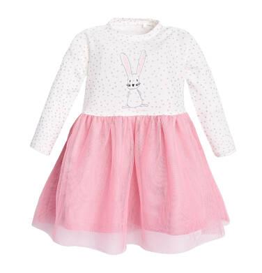 Endo - Sukienka z długim rękawem dla dziecka 6-36 miesięcy N82H018_1