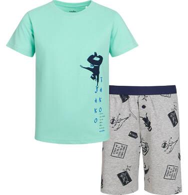 Endo - Piżama z krótkim rękawem dla chłopca, z ninją, 2-8 lat C03V002_1