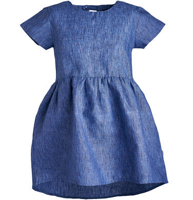 Endo - Sukienka z krótkim rękawem dla dziewczynki 3-8 lat D81H018_1