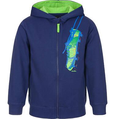 Bluza rozpinana z kapturem dla chłopca 9-13 lat C91C533_1