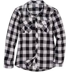 Endo - Koszula w kratę dla dziewczynki D61F003_1