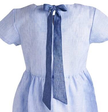 Endo - Sukienka z krótkim rękawem dla dziewczynki 3-8 lat D81H018_2