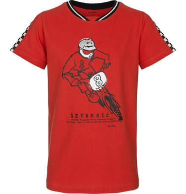 Endo - T-shirt z krótkim rękawem dla chłopca 3-8 lat C91G026_1