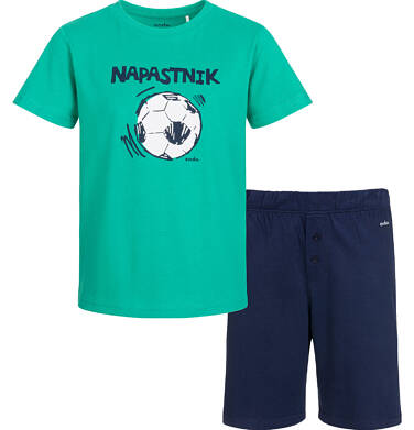Endo - Piżama z krótkim rękawem dla chłopca, z piłką, 2-8 lat C03V003_1