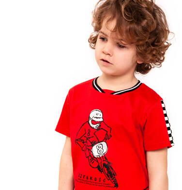 Endo - T-shirt z krótkim rękawem dla chłopca 9-13 lat C91G526_1