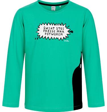 Endo - T-shirt z długim rękawem dla chłopca 9-13 lat C92G596_1 1