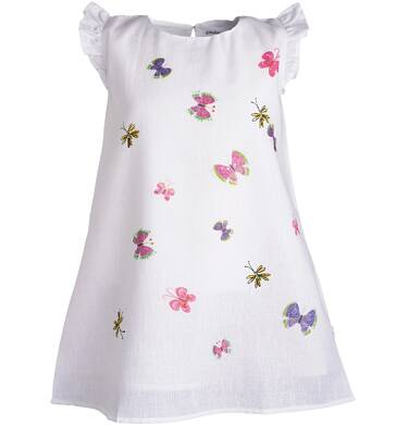 Endo - Sukienka z krótkim rękawem dla dziewczynki 3-8 lat D81H020_1