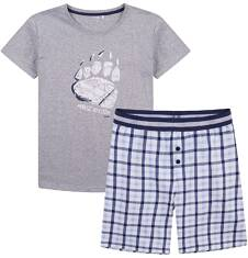 Piżama męska z krótkimi spodenkami Q71V001_1