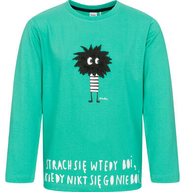 Endo - T-shirt z długim rękawem dla chłopca 9-13 lat C92G597_1