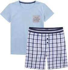 Piżama męska z krótkimi spodenkami Q71V003_1