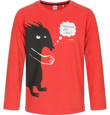 Endo - T-shirt z długim rękawem dla chłopca 3-8 lat C92G098_1 16