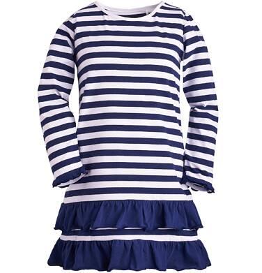 Endo - Sukienka z falbankami dla dziewczynki 9-13 lat D81H507_1