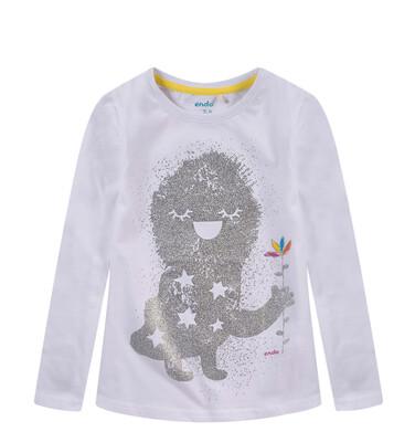 Endo - Bluzka z długim rękawem dla dziewczynki D52G025_1